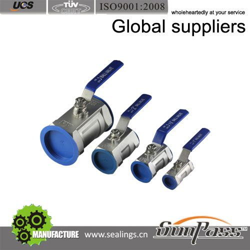 One Way Stainless Steel Ball Valve