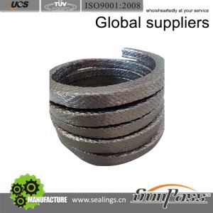 Wire Reinforced Graphite Asbestos Packing With Rubber